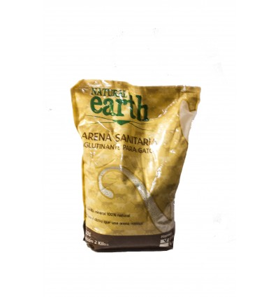 Arena Sanitaria de Natural Earth 4 Kg