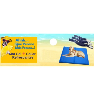 PACK Verano: Collar + MAT Gel Refrescante